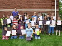 Brad Rubini and proud C.A.R.E. Award winners